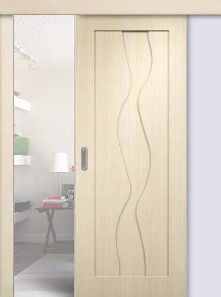 раздвижная дверь без стекла